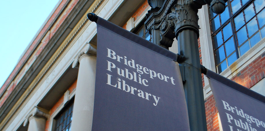 An image of the Bridgeport Public Library